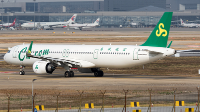 B-30EU - Airbus A321-253NX - Spring Airlines