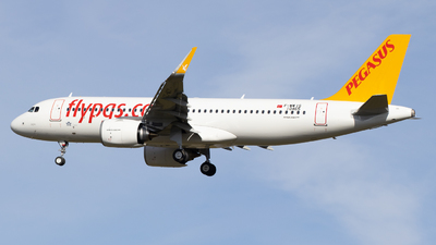 F-WWIS - Airbus A320-251N - Pegasus Airlines