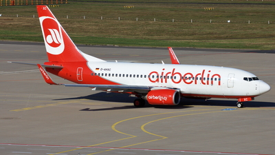 D-AHXC - Boeing 737-7K5 - Air Berlin