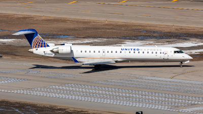 N743SK - Bombardier CRJ-701ER - United Express (SkyWest Airlines)