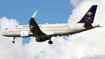F-WWDJ - Airbus A320-214 - Saudi Arabian Airlines