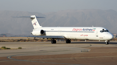 EP-ZAK - McDonnell Douglas MD-83 - Zagros Airlines