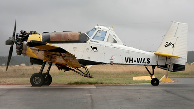 VH-WAS - PZL-Mielec M-18A Dromader - Private