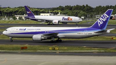 JA612A - Boeing 767-381(ER) - All Nippon Airways (ANA)