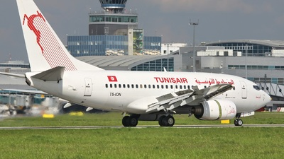 TS-ION - Boeing 737-6H3 - Tunisair