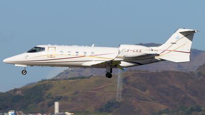 LV-CKK - Bombardier Learjet 60 - Private