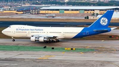 N747GE - Boeing 747-121 - General Electric