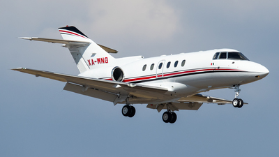 A picture of XAWNG - Hawker 800XP - [258397] - © Santiago_MN