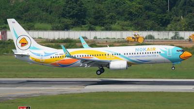 HS-DBZ - Boeing 737-88L - Nok Air