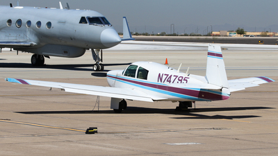 N74795 - Mooney M20 - Private