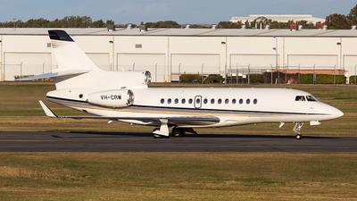 VH-CRW - Dassault Falcon 7X - Sydney Jet Charter
