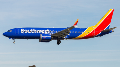 A picture of N8711Q - Boeing 737 MAX 8 - Southwest Airlines - © LUSU