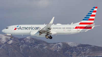 A picture of N314PD - Boeing 737823 - American Airlines - © Micah Vobora