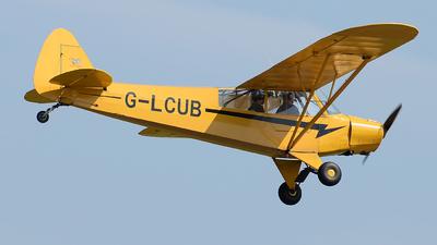 G-LCUB - Piper PA-18 Super Cub - Private