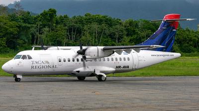 HR-AVA - ATR 42-320 - TACA Regional Airlines (Isleña Airlines)