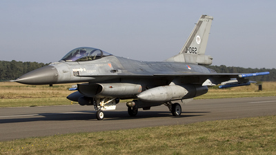 J-062 - General Dynamics F-16AM Fighting Falcon - Netherlands - Royal Air Force