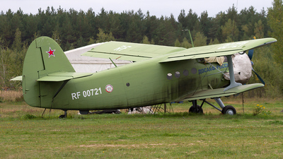 RF-00721 - Antonov An-2 - Russia - Defence Sports-Technical Organisation (ROSTO)