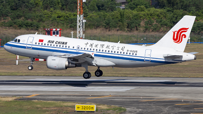 B-6225 - Airbus A319-115 - Air China