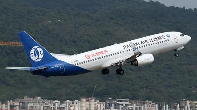 A picture of B5566 - Boeing 73785C - Jiangxi Air - © Brian