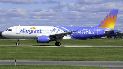 N218NV - Airbus A320-214 - Allegiant Air