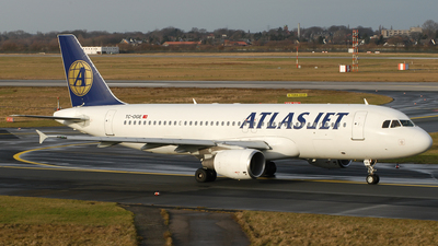 TC-OGE - Airbus A320-214 - AtlasJet