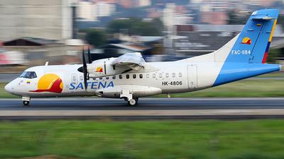 HK-4806 - ATR 42-500 - Satena