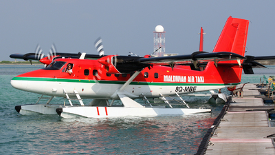 8Q-MBE - De Havilland Canada DHC-6-300 Twin Otter - Maldivian Air Taxi