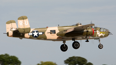 N25YR - North American B-25J Mitchell - Commemorative Air Force