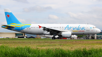 P4-AAH - Airbus A320-214 - Aruba Airlines