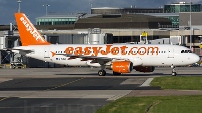 G-EZUP - Airbus A320-214 - easyJet