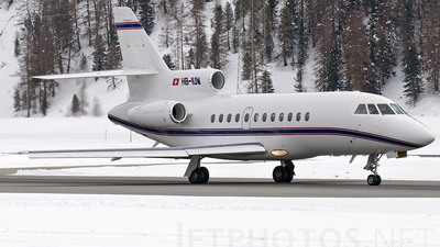 HB-IUW - Dassault Falcon 900B - Jet Aviation Business Jets