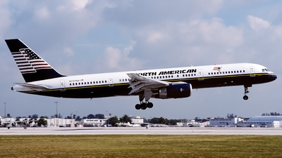 N757NA - Boeing 757-23A - North American Airlines