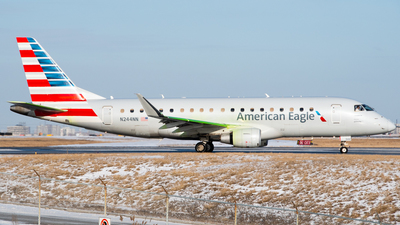 A picture of N244NN - Embraer E175LR - American Airlines - © Nick L.