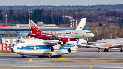 RA-89129 - Sukhoi Superjet 100-95B - Rossiya Airlines