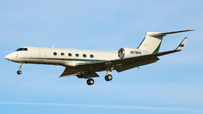 N278PH - Gulfstream G-V - Private