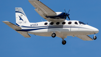 N722CA - Tecnam P2012 Traveller - Cape Air