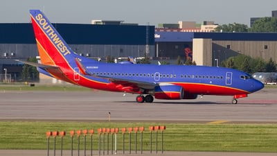N263WN - Boeing 737-7H4 - Southwest Airlines