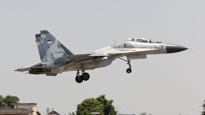 TS-3011 - Sukhoi Su-30MK2 - Indonesia - Air Force