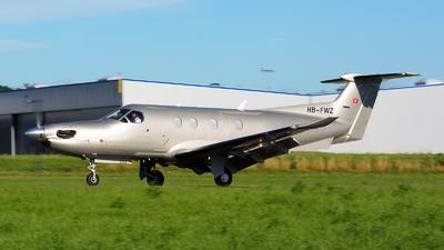 A picture of HBFWZ - Pilatus PC12/47E - [1252] - © Jeremy Denton