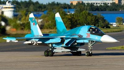 38 - Sukhoi Su-34 Fullback - Russia - Air Force