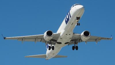 A picture of SPLNE - Embraer E195LR - LOT - © Jakub Szewczuk