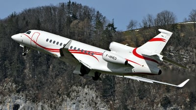A picture of FHHED - Dassault Falcon 7X - [273] - © Mirko Bleuer