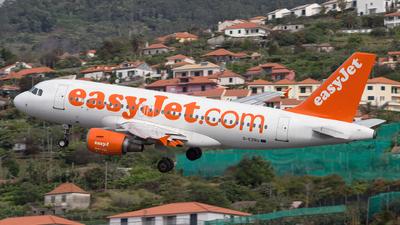 G-EZBU - Airbus A319-111 - easyJet