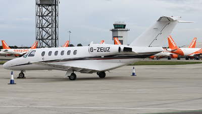 A picture of GZEUZ - Cessna 525A CitationJet CJ2 - Zenith Aviation - © David Oates