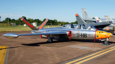 F-AZXV - Fouga CM-170 Magister - Private