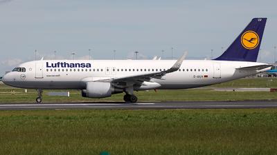 D-AIUV - Airbus A320-214 - Lufthansa