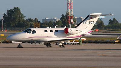 OE-FZG - Cessna 510 Citation Mustang - Private