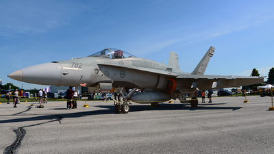 188782 - McDonnell Douglas CF-188 Hornet - Canada - Royal Air Force