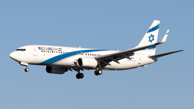 A picture of 4XEKT - Boeing 7378BK - El Al - © Michael Knüfer