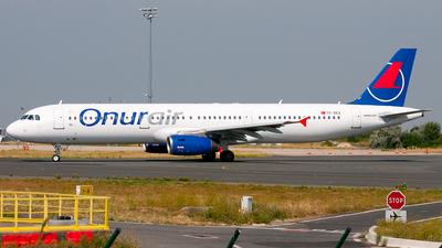 TC-OAE - Airbus A321-231 - Onur Air